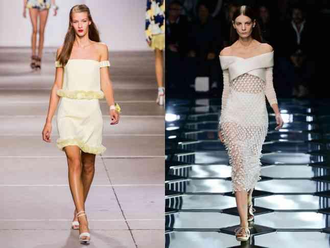 ce se poarta 2015 rochie umeri