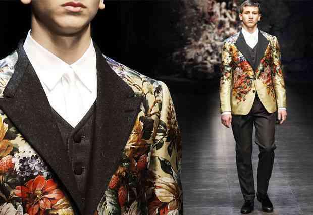 moda barbati 2015 floral