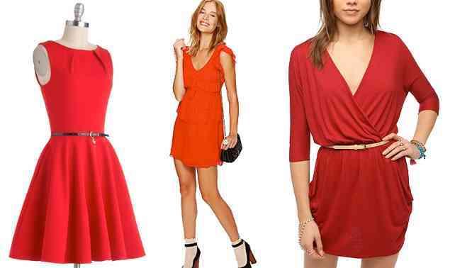 rochii rosii 2015
