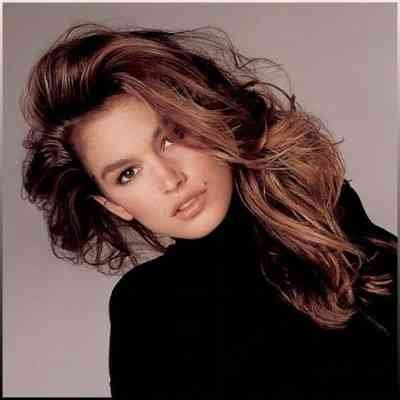 Cindy Crawford tinerete