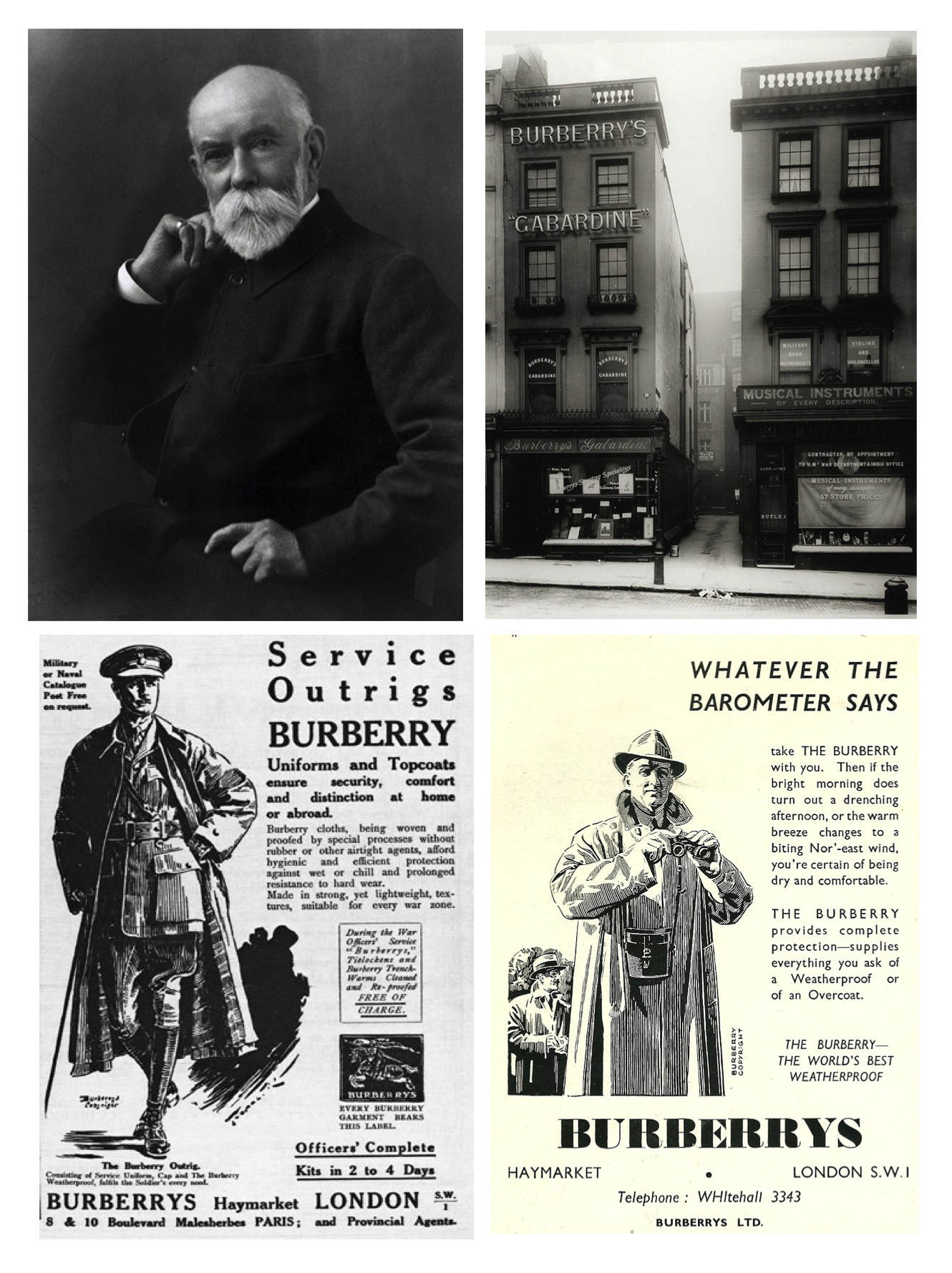 Thomas Burberry biografie