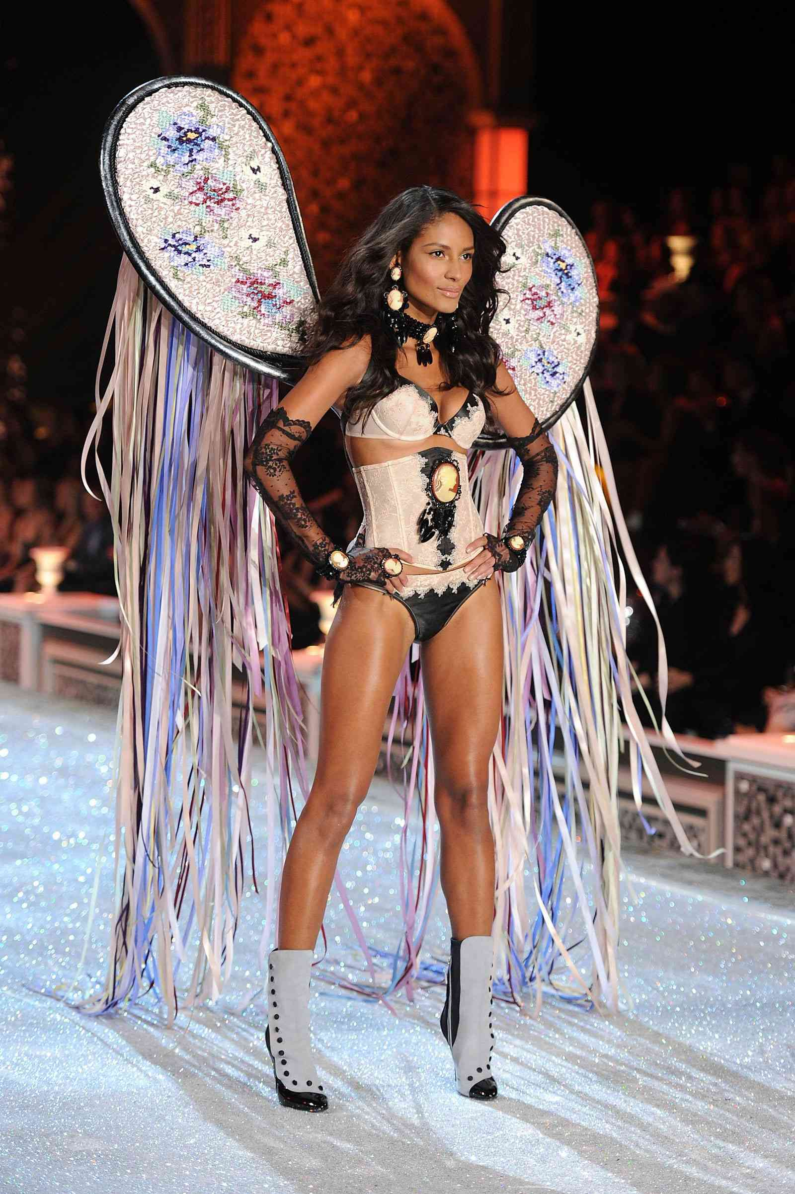 Emanuela De Paula at Victoria's Secret Fashion Show in New York
