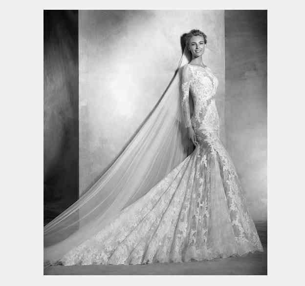 rochie mireasa pronovias