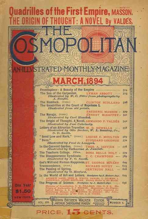 Cosmopolitan, martie 1894