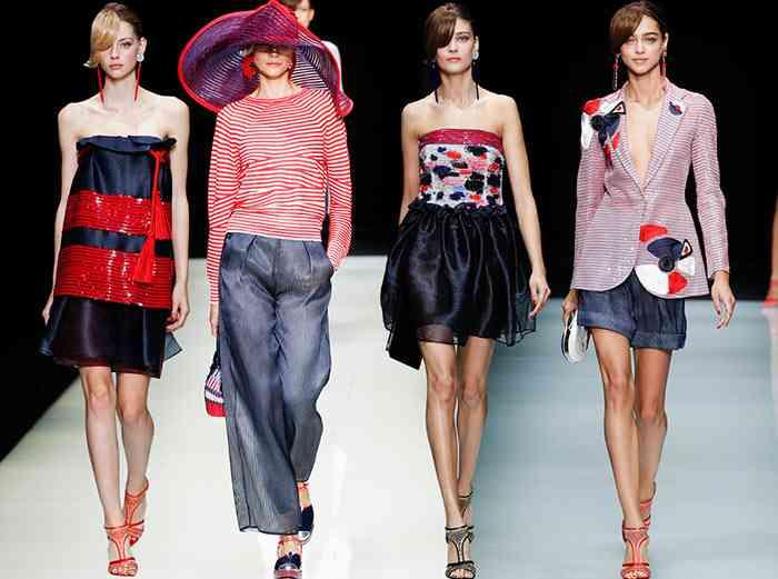 GIORGIO ARMANI moda 2016