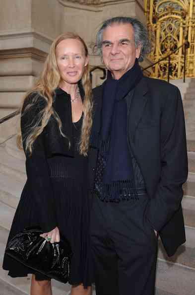 Patrick Demarchelier si sotia