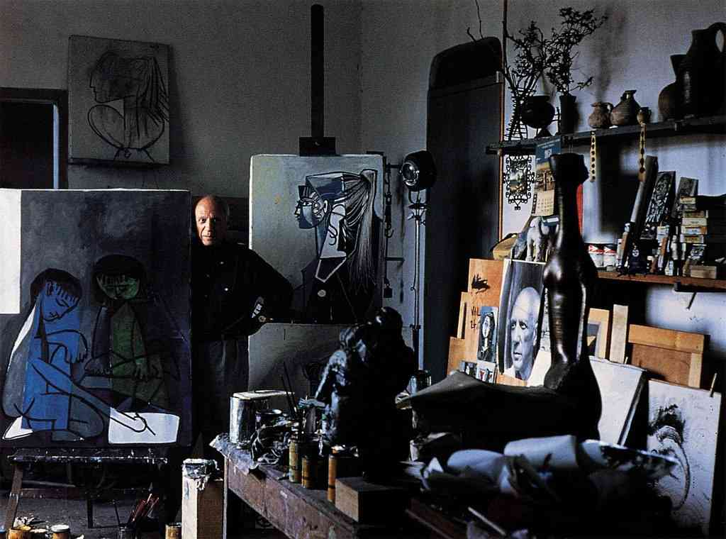 Alexander Liberman studio
