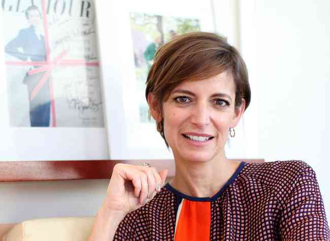 Cynthia Leive, editor Glamour
