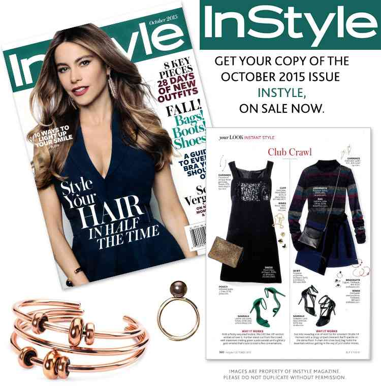 instyle revista glossy