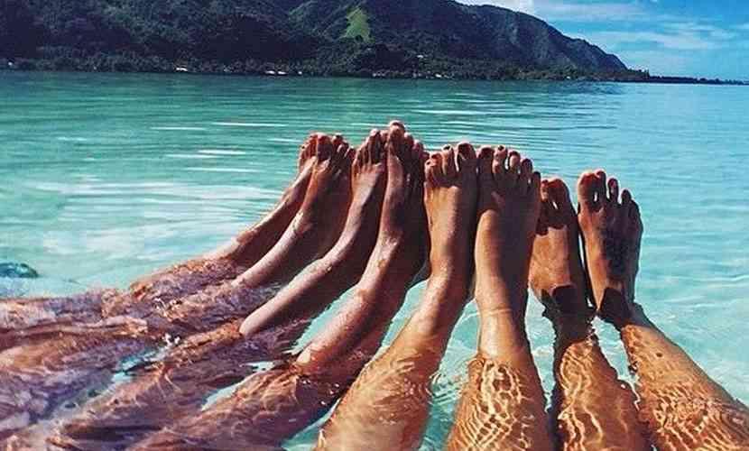 colorarea picioarelor
