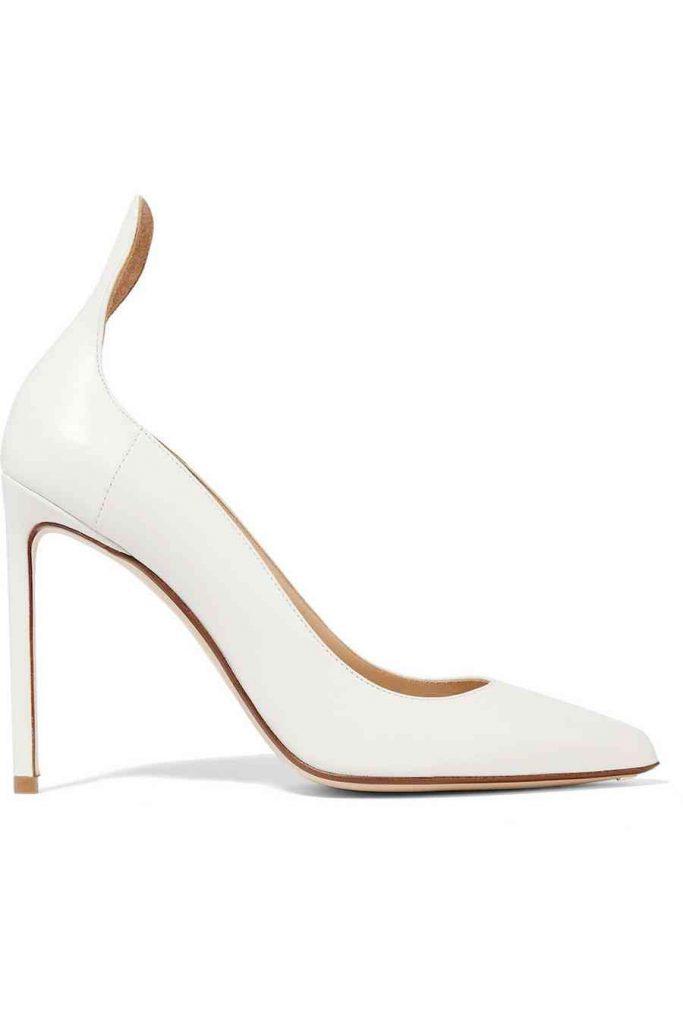 pantofi albi francesco russo