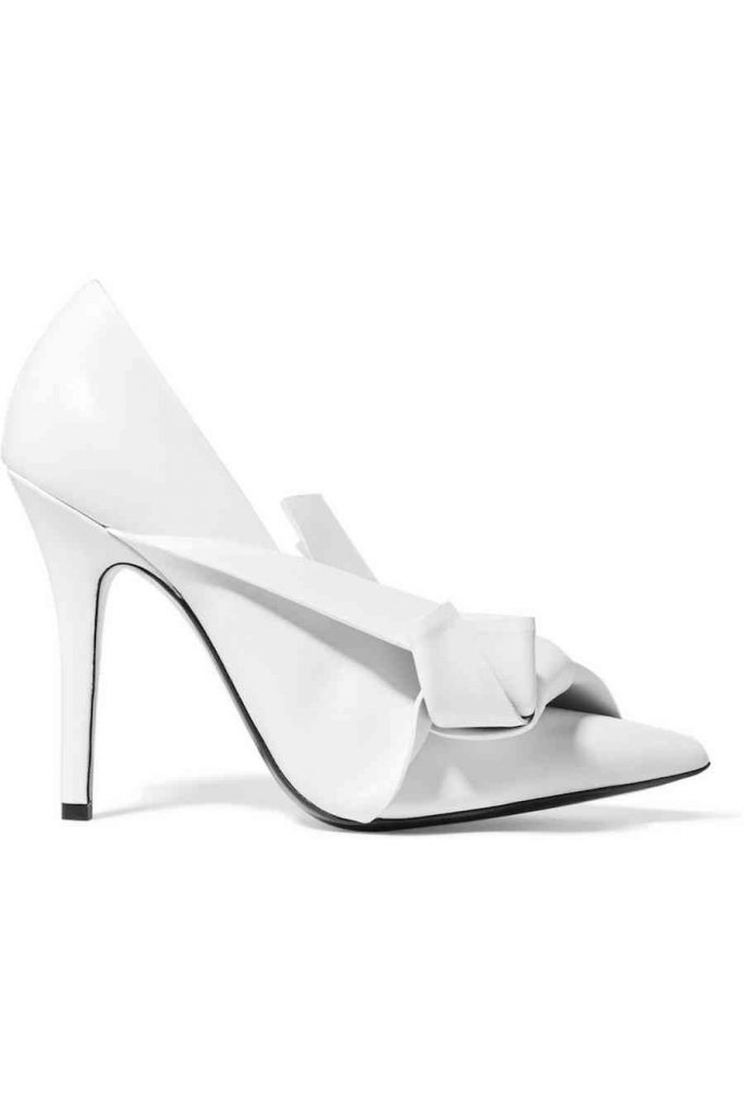 pantofi albi no 21