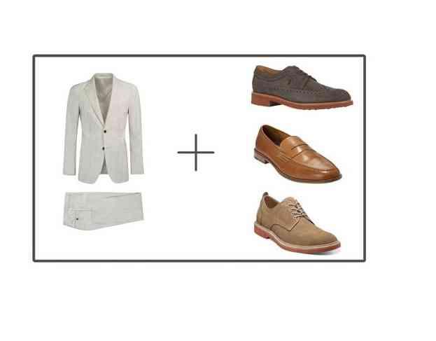 pantofi costum alb