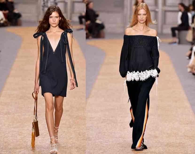 rochii lungi și scurte chloe