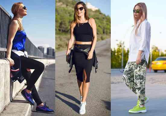 sneakersi la moda