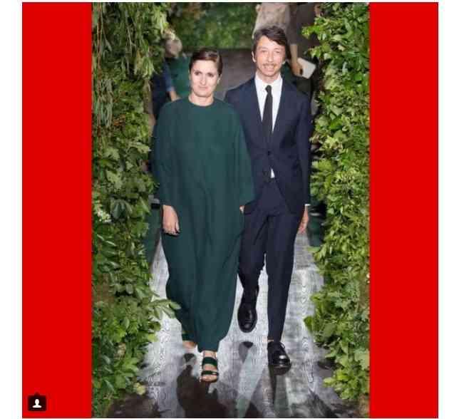 maria grazia chiuri rochie verde