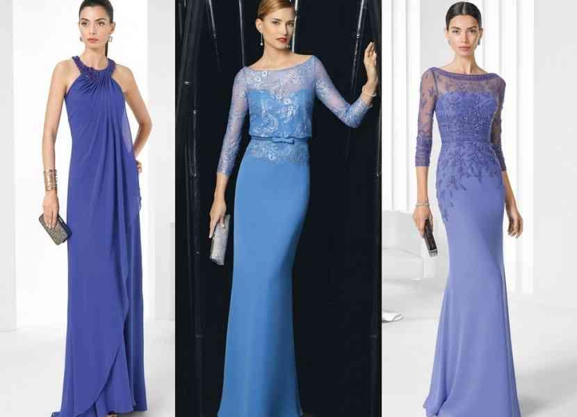 rochii lungi albastre