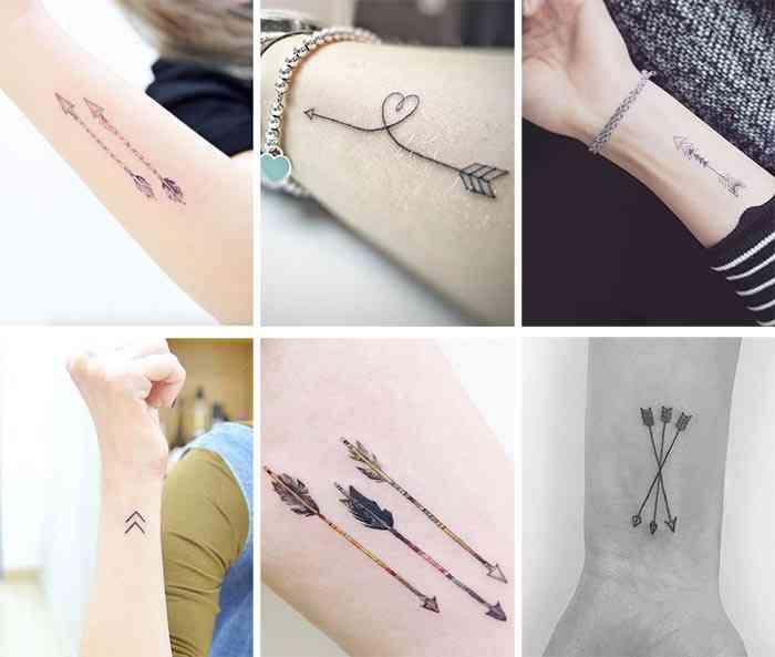 Tatuaje cu sageata
