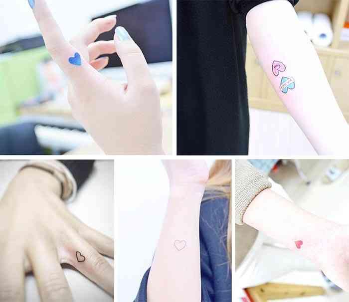 Tatuaje inima