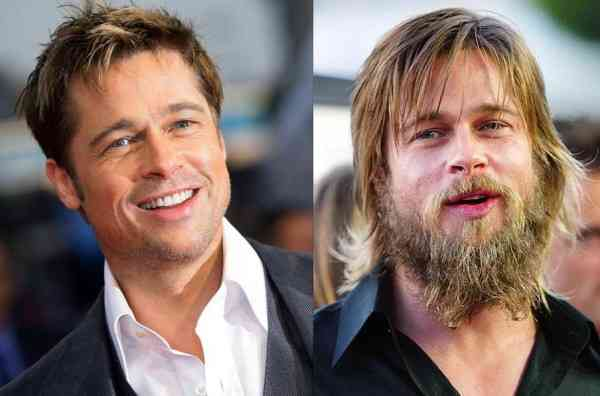 barba brad pitt
