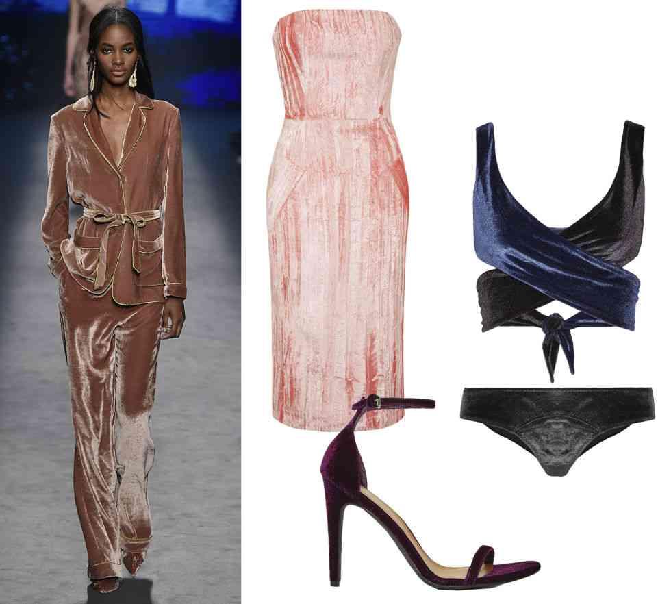 catifea la moda
