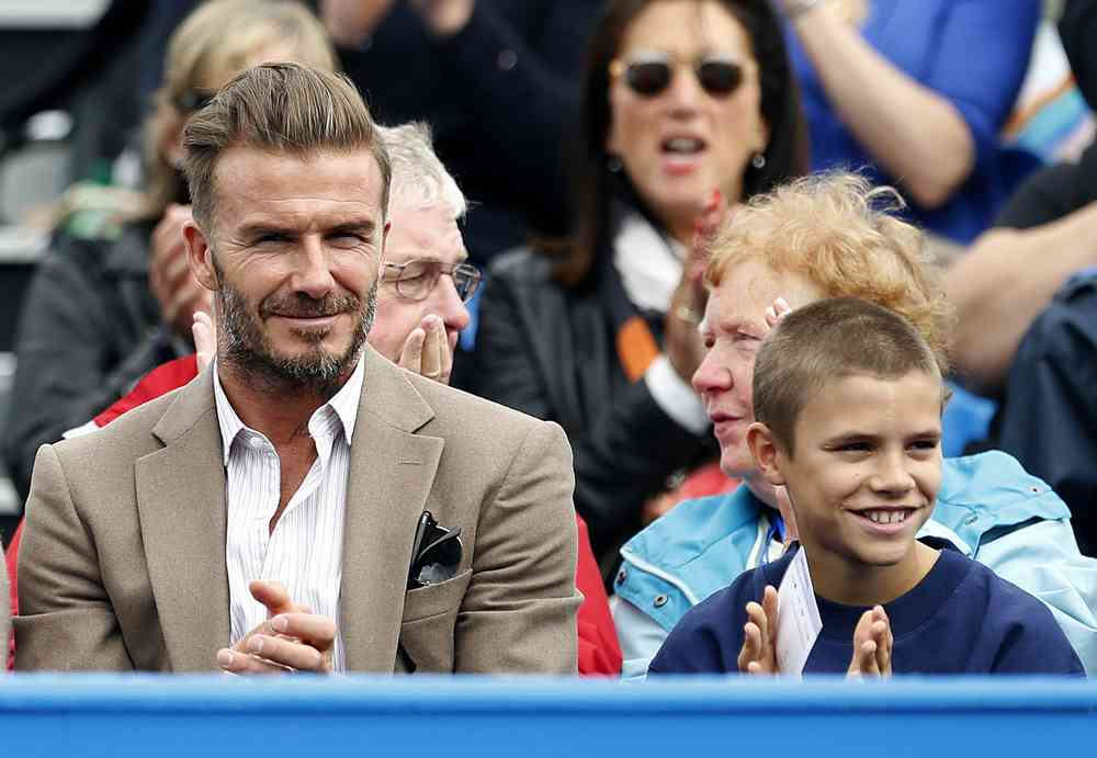 costum kaki david beckham