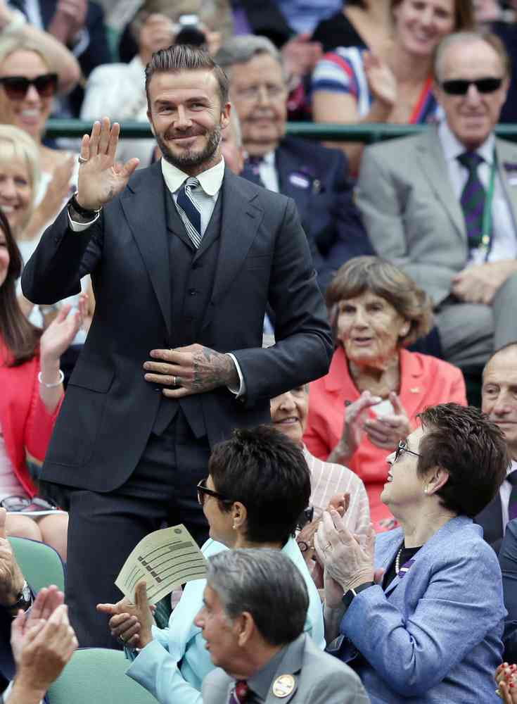 costum wimbledon david beckham