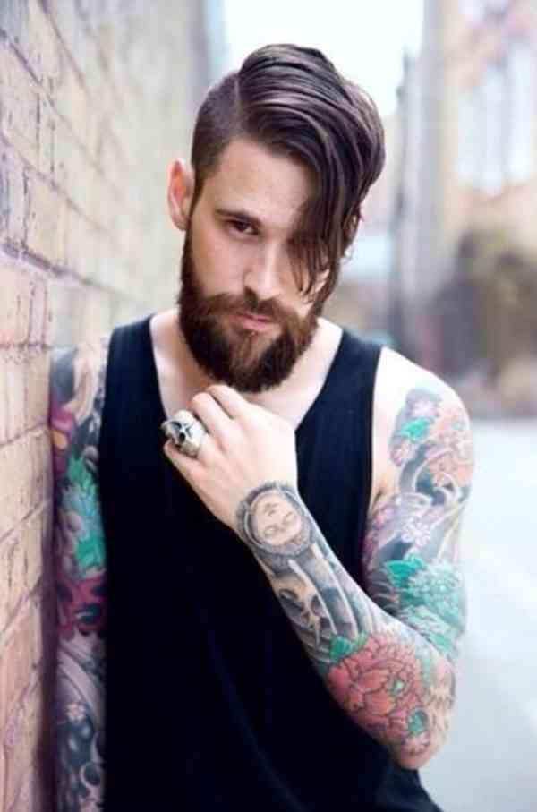 hipster cu barba