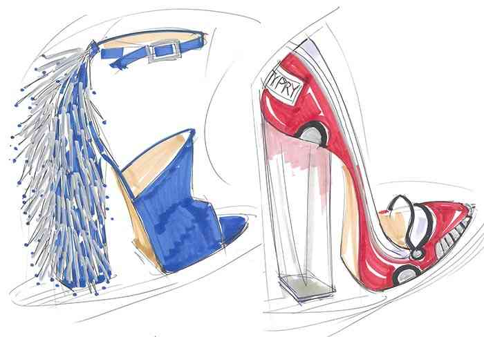 pantofi Katy Perry