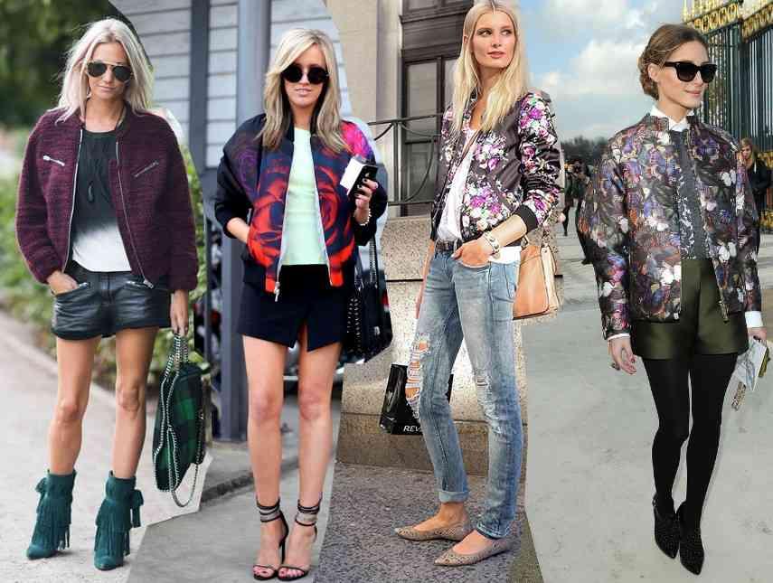 jacheta bomber la moda