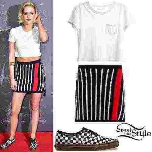 Kristen Stewart casual look