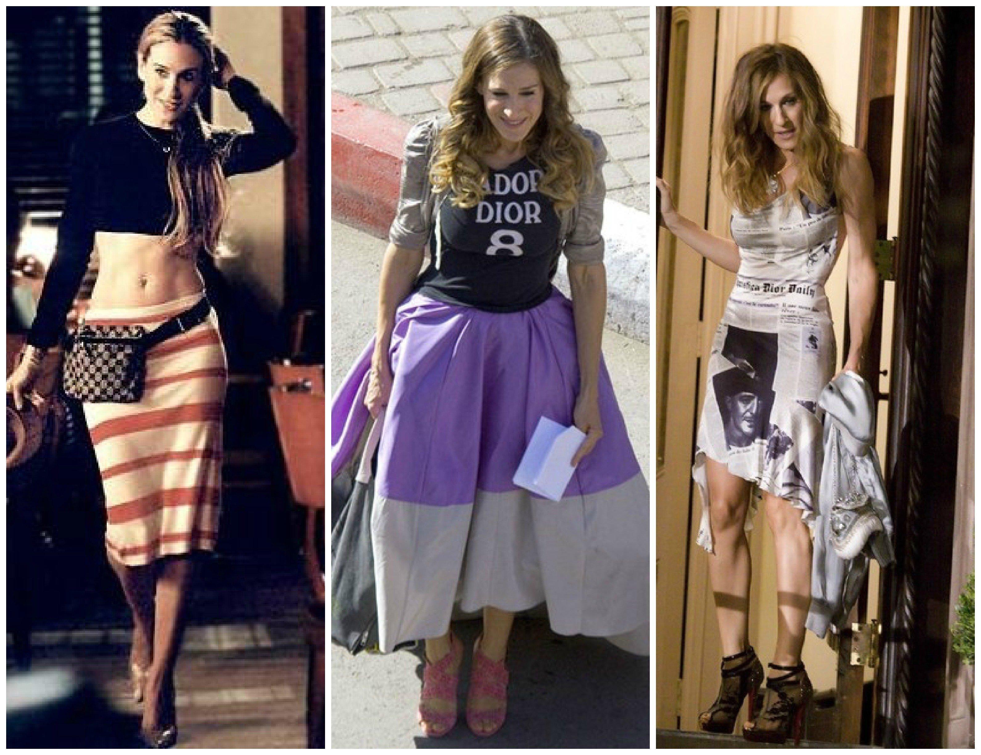 Carrie bradshaw stil