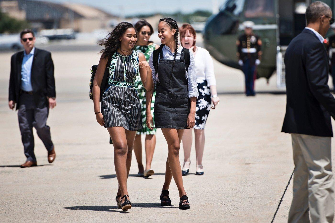 Sasha and Malia Obama's Best Fashion Looks - Style 30
