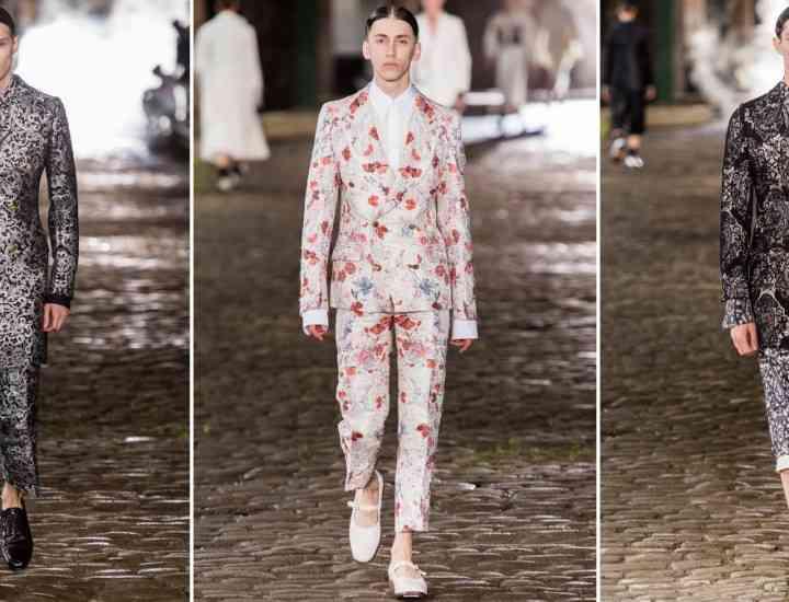 Ce propune casa de modă Alexander McQueen bărbaților, prin colecția Primăvară/Vară 2014