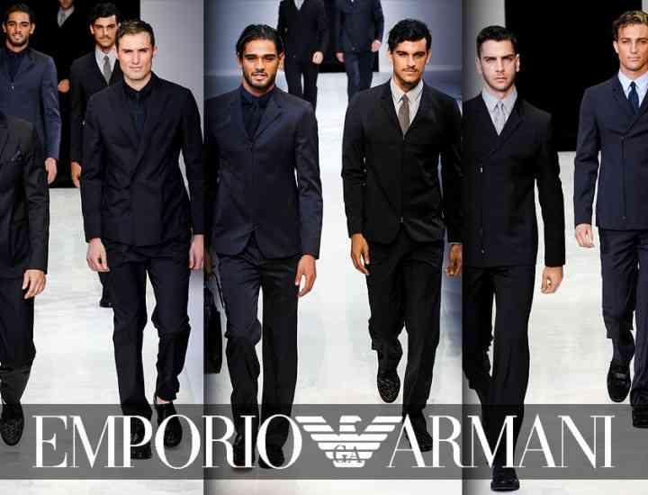 Ce propune Emporio Armani bărbaților, prin colecția Primăvară/Vară 2014