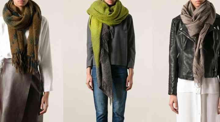 Eşarfe supradimansionate – Musthave-ul sezonului rece