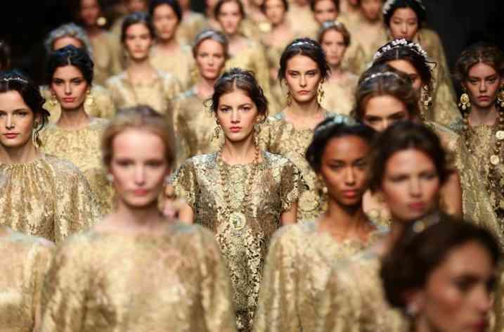 Cum să obţii machiajul primăverii 2014 de pe podiumul Dolce&Gabbana