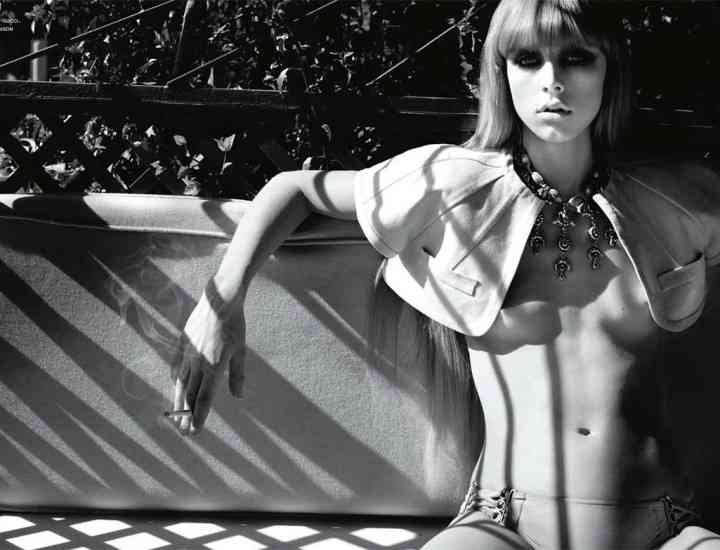 "Noua ""The It Girl"" de pe podiumuri: modelul Edie Campbell"