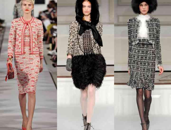 Cum a fost introdus tweed-ul în îmbrăcămintea feminină- povestea romantică din spatele ideii