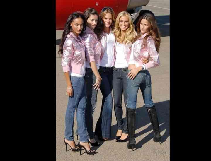 5 Ţinute cu jeans inspirate de la îngeraşii Victoria's Secret