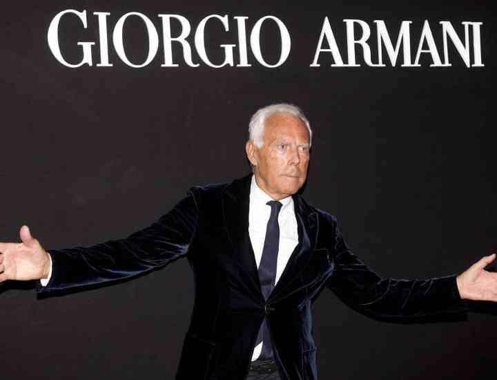 Casa de modă Giorgio Armani în dispută cu fiscul