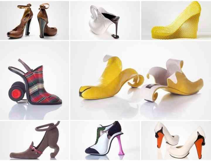 Cele mai ciudate 10 perechi de pantofi