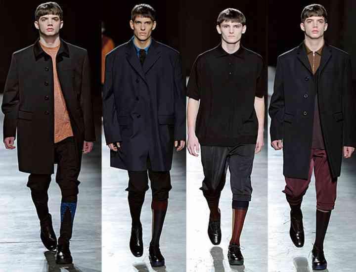 Stilul minimalist revine în trend, în 2014, în îmbrăcămintea bărbaţilor