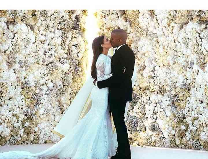 Kim Kardashian  – superbă în rochie de mireasă