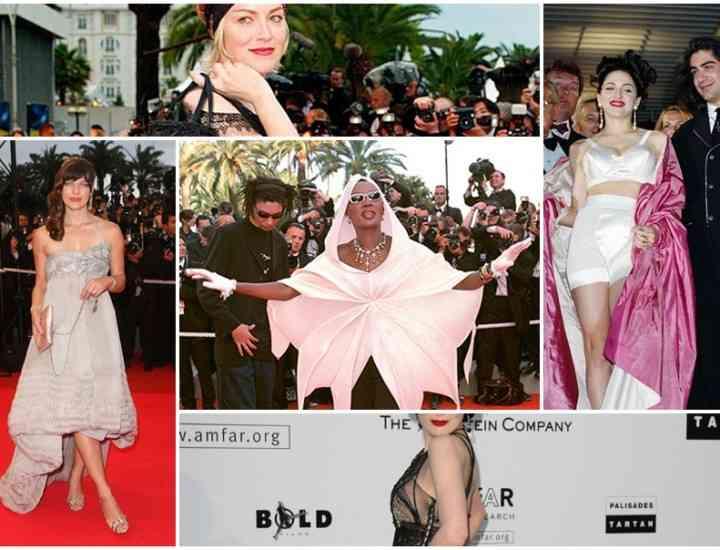 5 rochii extravagante din istoria Festivalului de la Cannes