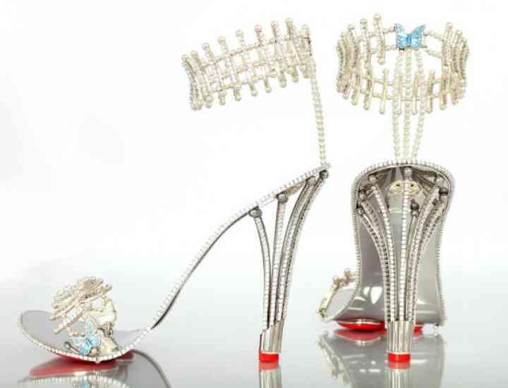 Cum arată cele mai scumpe sandale din lume