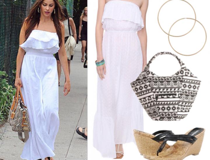 25 de idei fabuloase în care putem purta o rochie maxi vara
