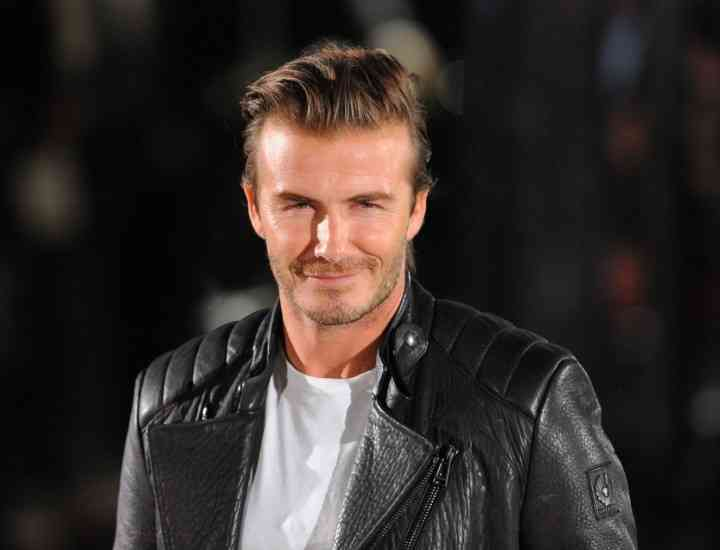 David Beckham devine designer pentru Belstaff
