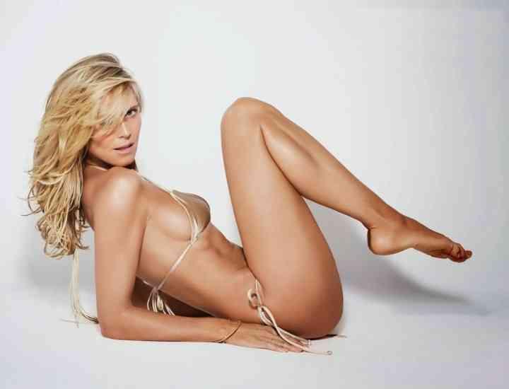 Picioarele modelului Heidi Klum sunt asigurate pentru o sumă de peste două milioane de dolari