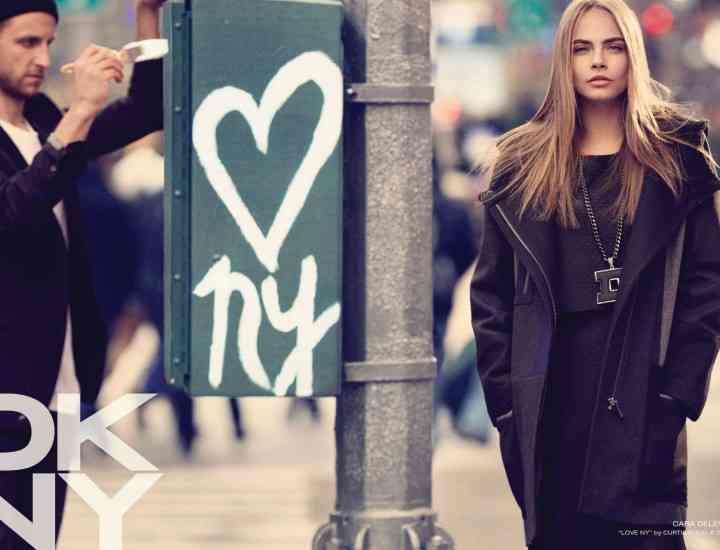 Cara Delevingne  -designer pentru DKNY